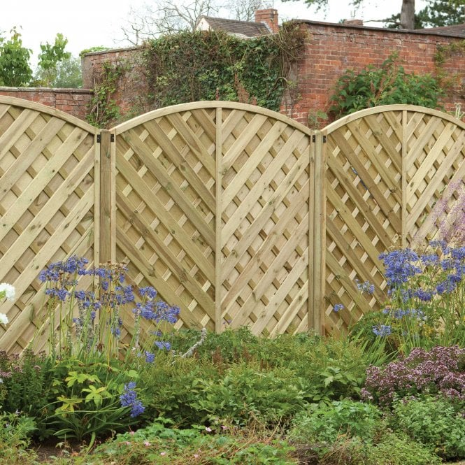 Click to view product details and reviews for 18m X 18m Europa Bradville Fence Panel.
