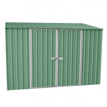 ABSCO 10 x 5 Space Saver Metal Shed in Pale Eucalyptus