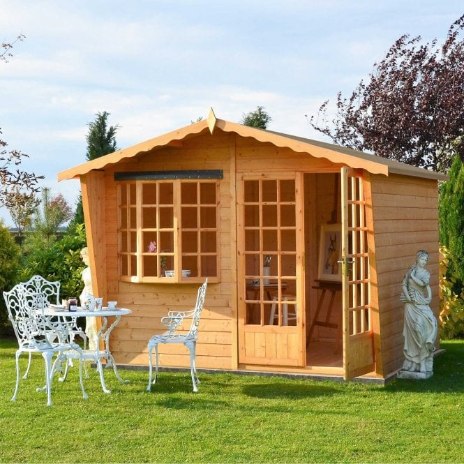 Click to view product details and reviews for 10 X 6 Sandringham Summerhouse.