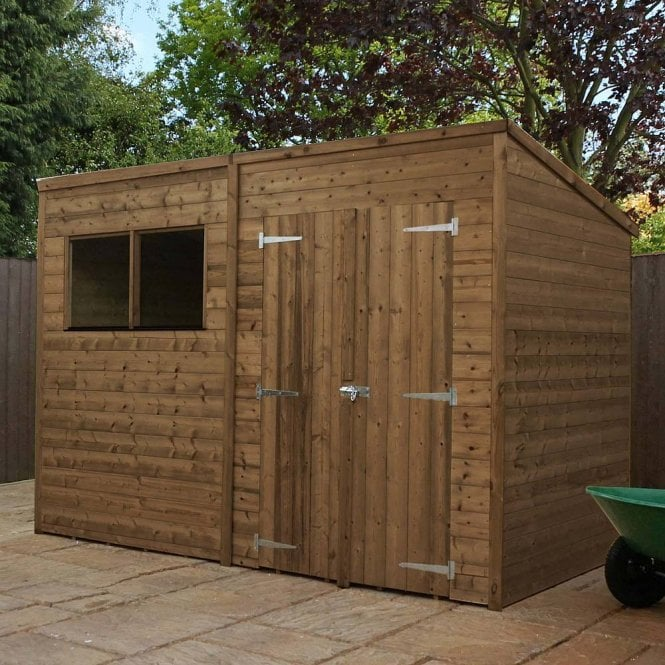 Click to view product details and reviews for 10x5 Pressure Treated Pent Shed.
