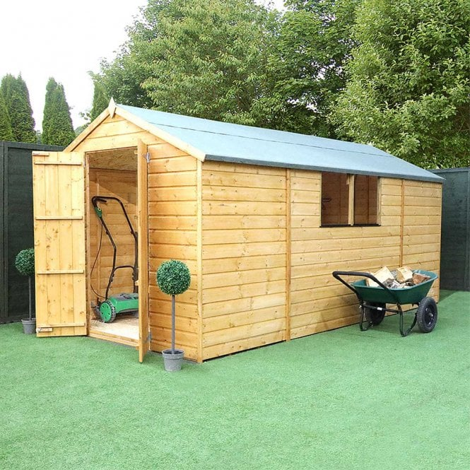 Click to view product details and reviews for 13x7 Shiplap Apex Shed.