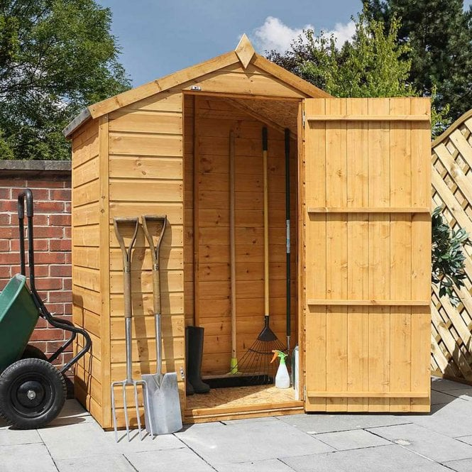 Click to view product details and reviews for 3 X 5 Windowless Shiplap Apex Shed.