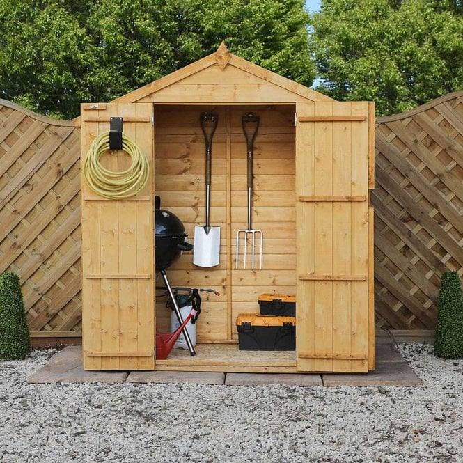 Click to view product details and reviews for 3 X 6 Pressure Treated Shiplap Apex Shed.