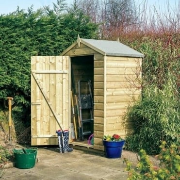 4 x 3 Oxford Shed with Optional Lean-To