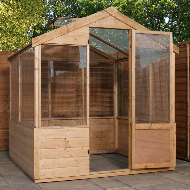 4 x 6 Apex Value Greenhouse