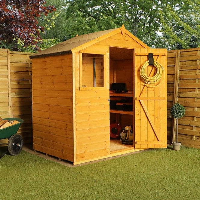 Click to view product details and reviews for 4 X 6 Shiplap Apex Shed.