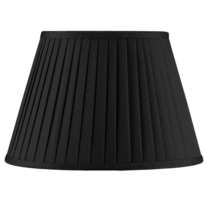 40cm Poly Cotton Knife Pleat Shade