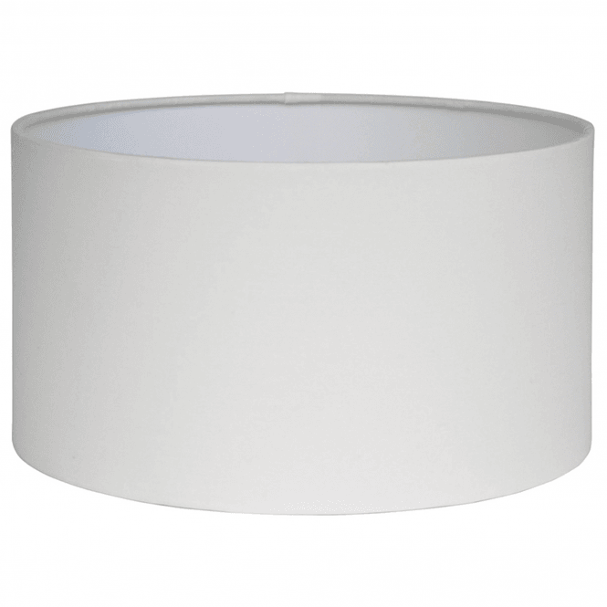 Click to view product details and reviews for 45cm Ivory Poly Cotton Cylinder Drum Shade.