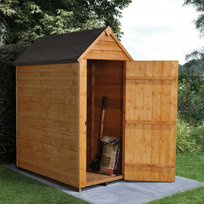 Click to view product details and reviews for 5 X 3 Overlap Dip Treated Apex Shed.