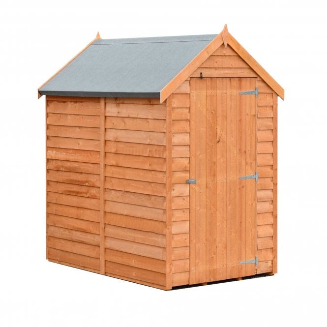 Click to view product details and reviews for 6 X 4 Value Overlap Apex Shed.