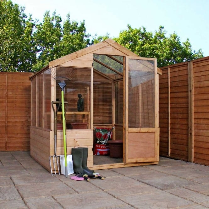 Click to view product details and reviews for 6 X 6 Apex Value Greenhouse.