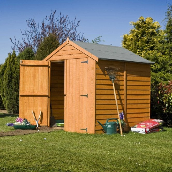 Click to view product details and reviews for 6 X 6 Overlap Apex Double Door Shed.