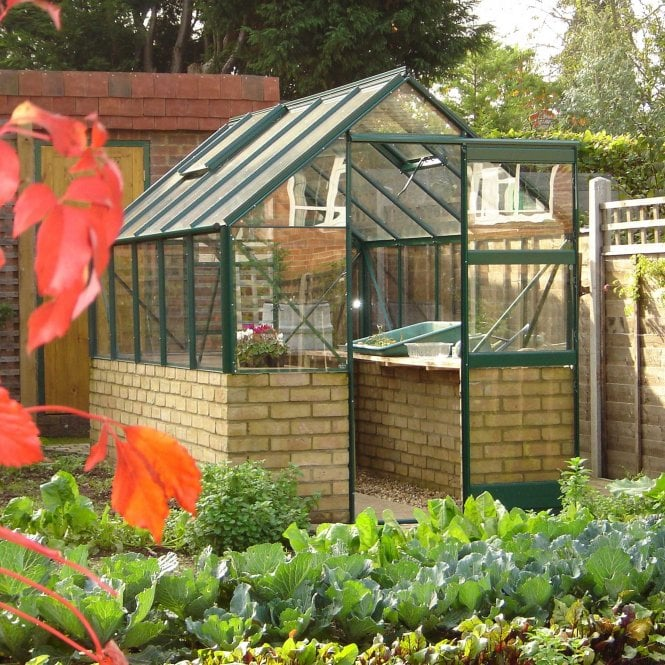 Click to view product details and reviews for 6 X 8 Featured Dwarf Wall Greenhouse.