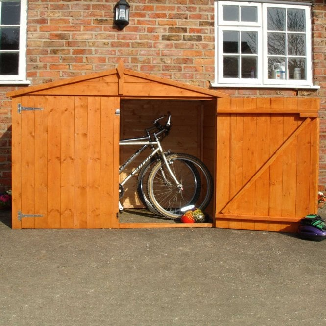 Click to view product details and reviews for 7 X 3 Apex Shiplap Bike Store.