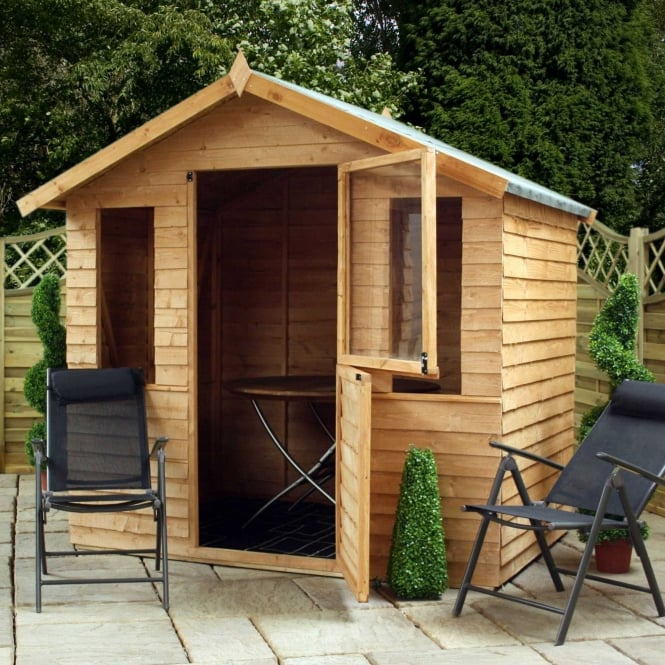 7 x 5 Overlap Stable Door Summerhouse