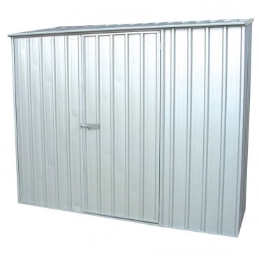 ABSCO 7 x 5 Space Saver Metal Shed Available in Two Colours