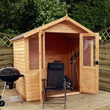7 x 5 Traditional Overlap Summerhouse