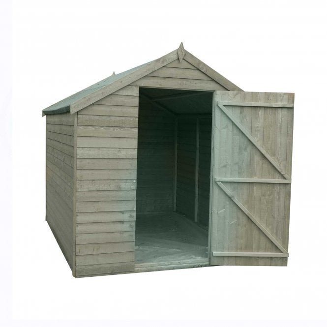 Click to view product details and reviews for 7 X 5 Value Overlap Pressure Treated Shed.