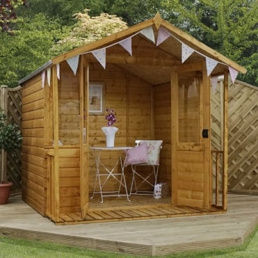 7 x 7 Traditional Shiplap Summerhouse