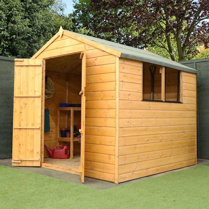 Click to view product details and reviews for 7x7 Shiplap Apex Shed.