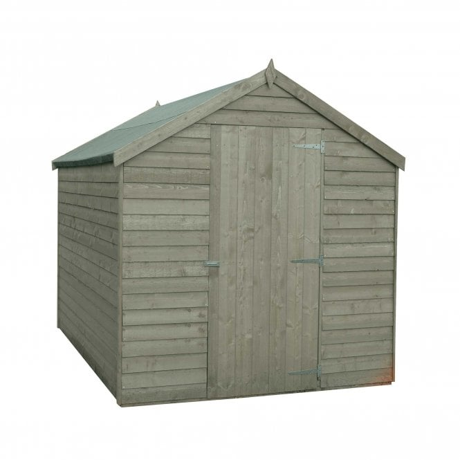 Click to view product details and reviews for 8 X 6 Overlap Pressure Treated Shed.
