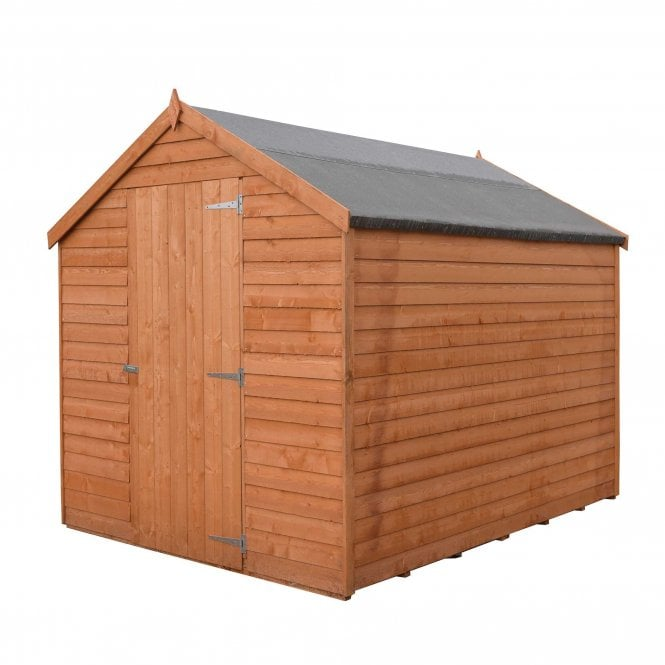 8 X 6 Value Overlap Apex Shed