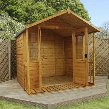 8 x 7 Traditional Shiplap Summerhouse