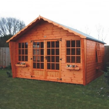 A1 Belton Summerhouse Cabin in 5 Sizes
