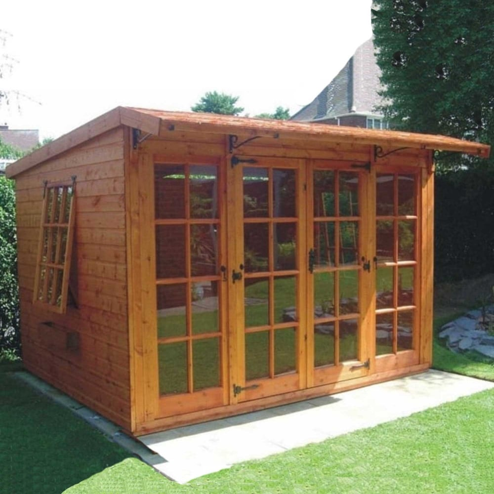20 Summer House Design Ideas: A1 Carlton Summerhouse In FSC Approved Timber