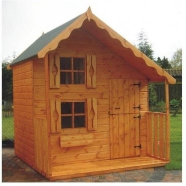 A1 Deluxe Playhouse: 5' x 7' / 7' x 7' / 8' x 8'