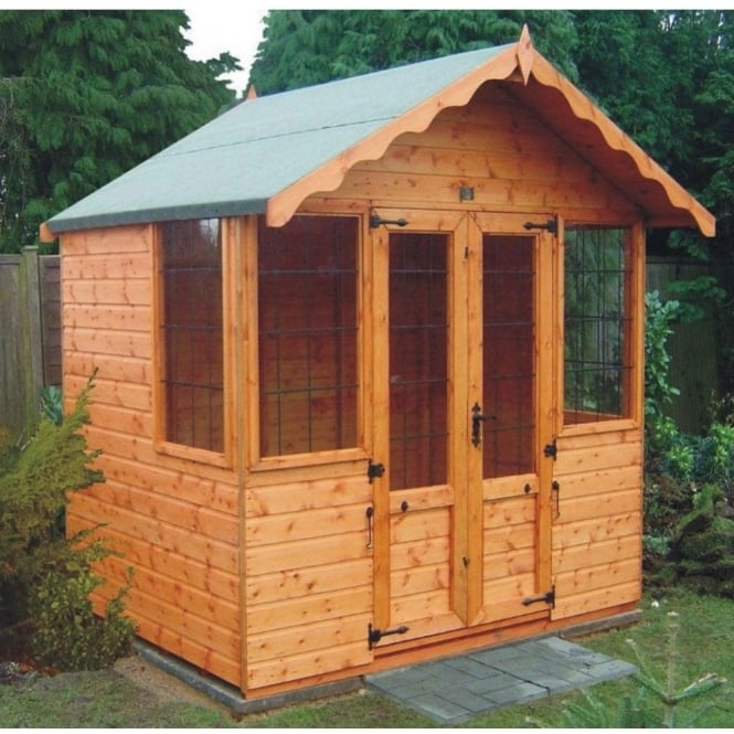 Click to view product details and reviews for A1 Durham Summerhouse In 4 Sizes With Optional Veranda.