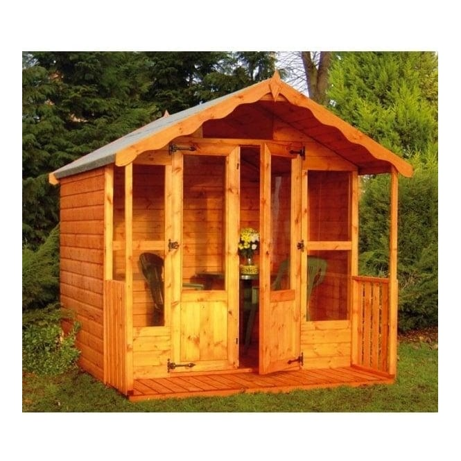 Fernwood Summerhouse: 7 x7 / 8 x 7