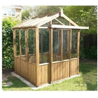 A1 Kelham Greenhouse with Single Door: 3 Sizes