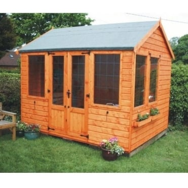 A1 Rutland Summerhouse: 6 x 10 / 8 x 10