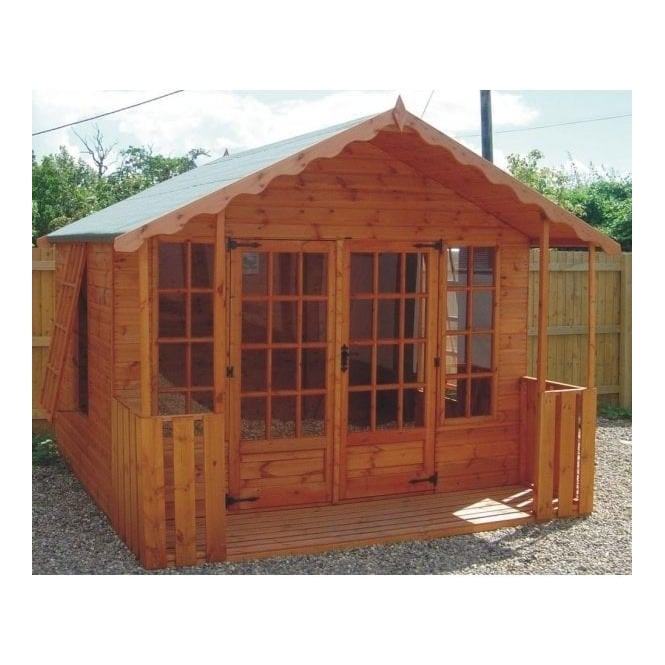 Click to view product details and reviews for A1 Stamford Summerhouse In 5 Sizes With Optional Veranda.