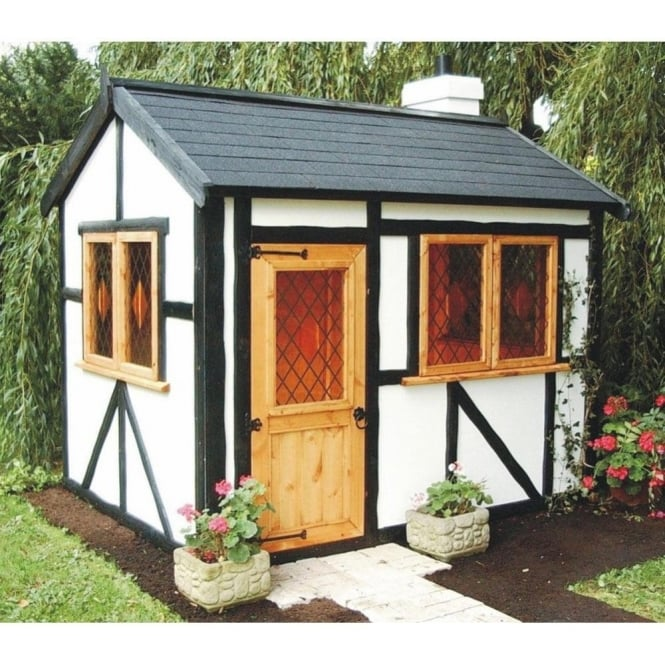 Click to view product details and reviews for A1 Tudor Lodge Playhouse.