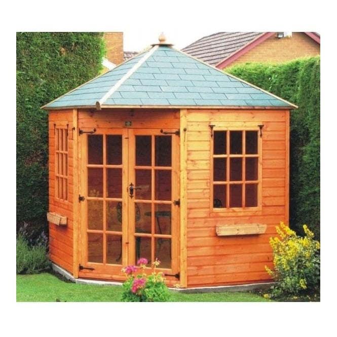 Click to view product details and reviews for A1 York Corner Summerhouse.