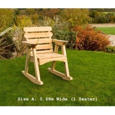 Abbey Rocking Chair: 2 Sizes