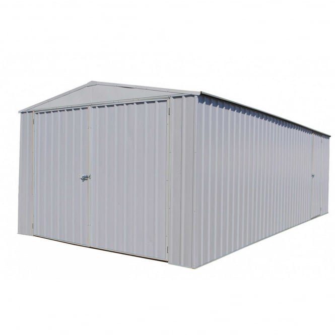Click to view product details and reviews for Absco 6 X 3m Metal Utility Workshop Available In Two Colours.