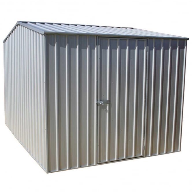Click to view product details and reviews for Absco 75 X 910ft Premier Apex Metal Storage Shed Zinc.