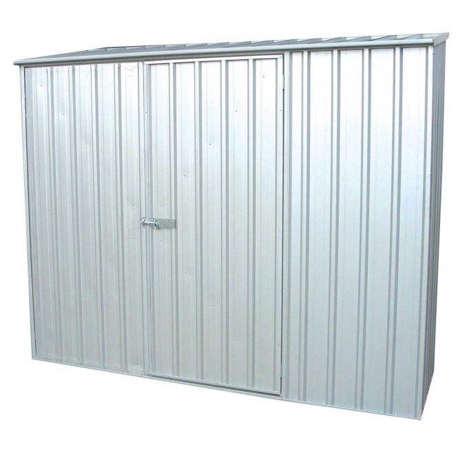 Absco 7 X 5 Space Saver Metal Shed Available In Three Colours