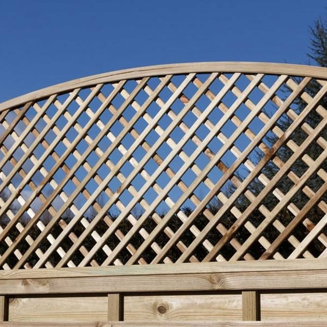 Click to view product details and reviews for Alderley Dome Lattice Trellis.