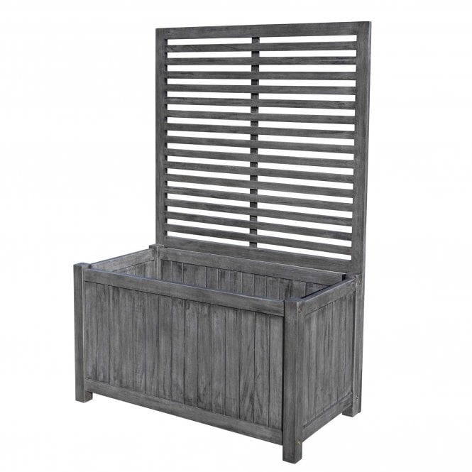 Click to view product details and reviews for Alderley Grey Planter And Trellis.