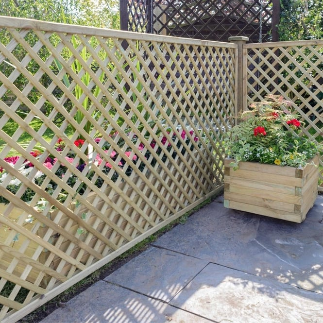 Click to view product details and reviews for Alderley Lattice Trellis.