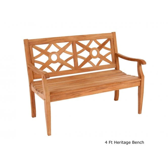 Click to view product details and reviews for Alexander Rose Mahogany Heritage Bench.