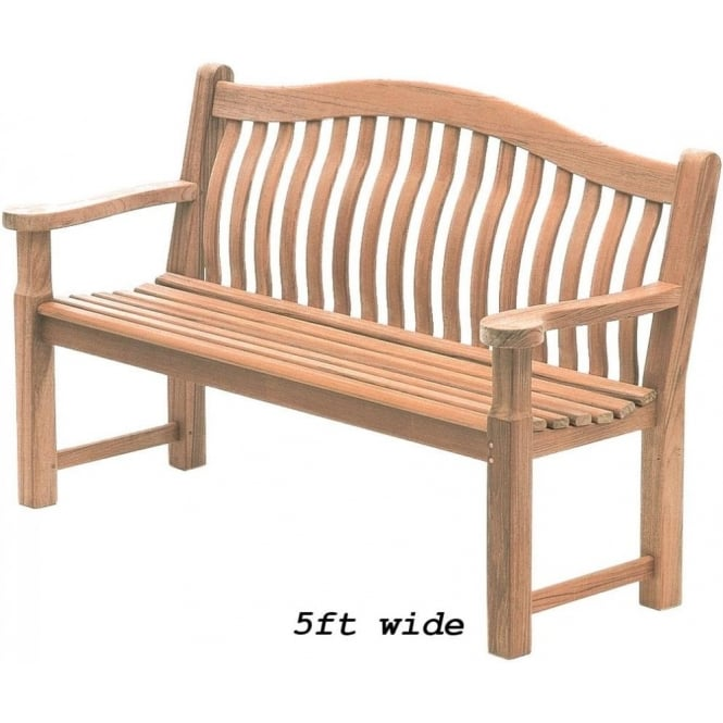 Click to view product details and reviews for Alexander Rose Mahogany Turnberry 5ft Bench.