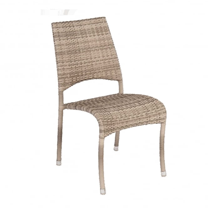 Click to view product details and reviews for Alexander Rose Ocean Pearl Fiji Stacking Side Chair.