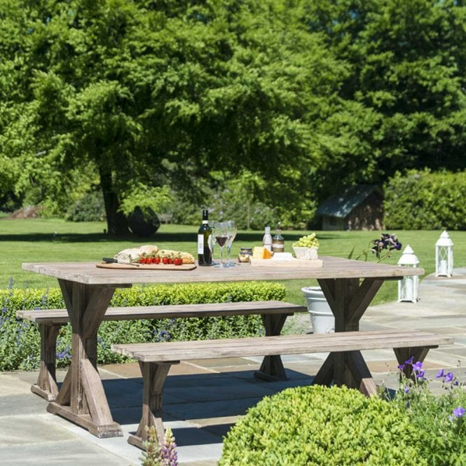 Click to view product details and reviews for Alexander Rose Old England Picnic Table And Bench Set.