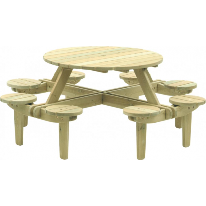 Click to view product details and reviews for Alexander Rose Pine Gleneagles Picnic Table 8 Seater.