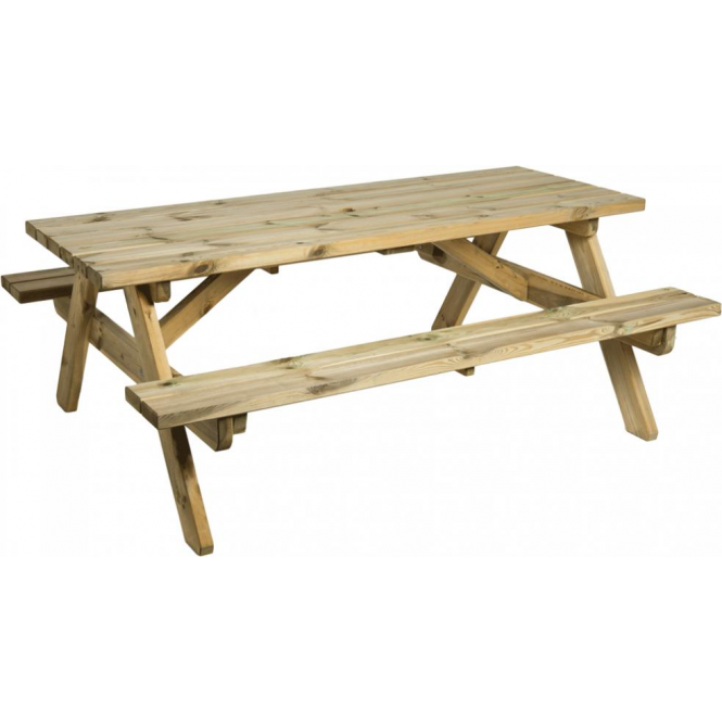 Click to view product details and reviews for Alexander Rose Pine Heavy Duty 6ft Picnic Table.